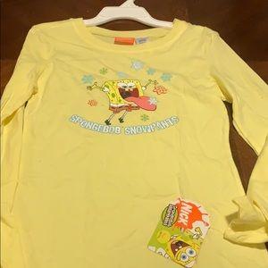 Sponge bob girls tshirt
